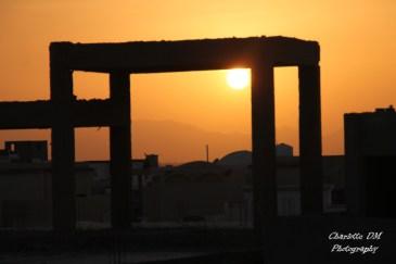 Coucher de soleil sur Hurghada