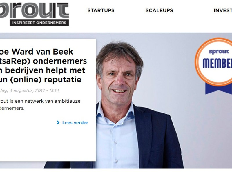 Meanwhile op Sprout.nl