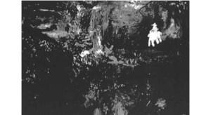 "Jomar Statkun, Tubal Cain at Beggar's Creek, 2006, oil on canvas,60"" x 72"", sold as 50"" x 72"""