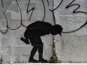 """""""Better Out than In,"""" by Bansky (New York, NY)"""