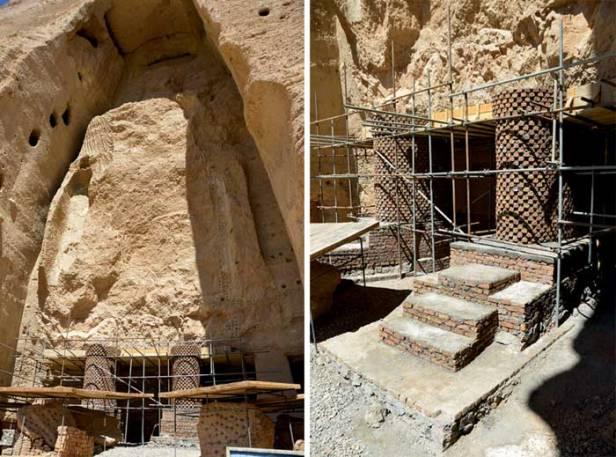 feet of Bamiyan-Buddhas