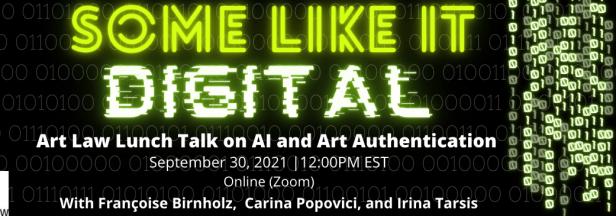 "Banner for first ""Some Like it Digital"" webinar."