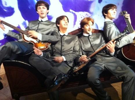 The Beatles at Hong Kong Madame Tussauds at The Peak