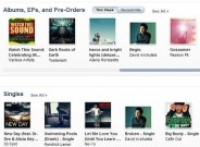 "It's on the iTunes front page. Single ""Broken"" downloadable on preorder of BEGIN. the album."