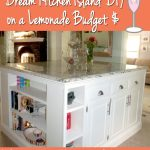 Dream Kitchen Island Diy On A Lemonade Budget Phase 3 All