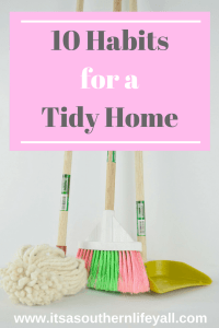 10 Habits for a Tidy Home