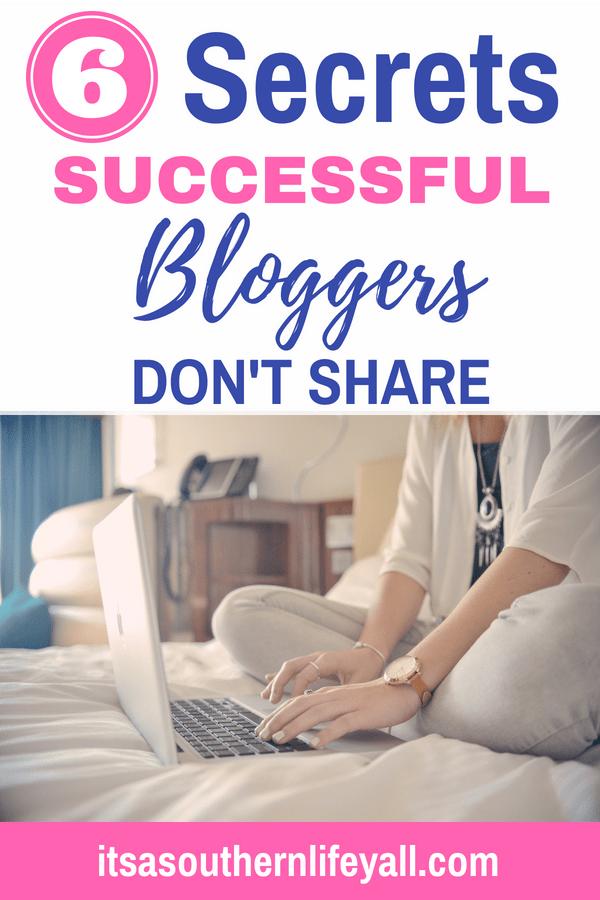 6 secrets successful bloggers dont share-min