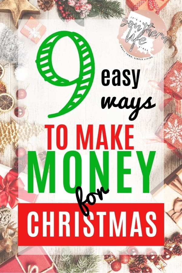 Easy ways to make money for Christmas to help keep you out of debt. Fast ways to make cash for the holiday season. Small side hustles that will give you financial peace.