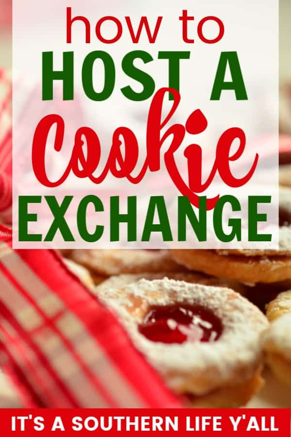 Host a cookie exchange that your girlfriends will LOVE! Friends, Christmas, Cookies...Can't get much better than that!