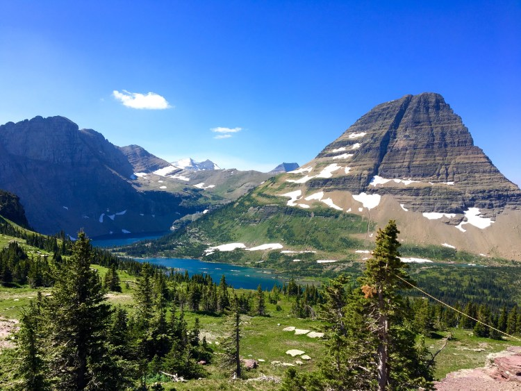 national parks, glacier national park, grinnell, highline, trail, hikes, adventure, forest, wildlife, wildflowers, nature hidden lake heavens peak montana