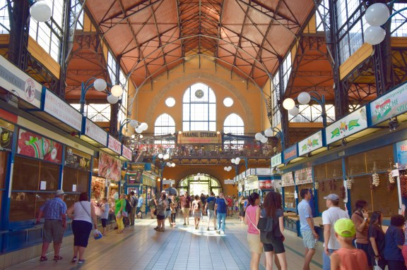 central market hall budapest hungary europe buda castle