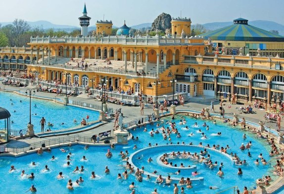 budapest hungary europe buda castle gerbeaud castle dessert coffee thermal bath