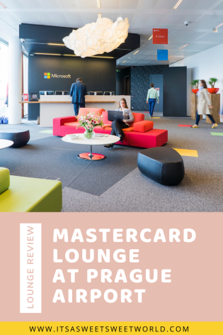 Mastercard Lounge at Prague Airport pin it