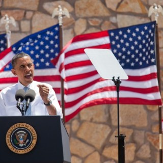 President Obama speaks in El Paso, TX on May 10, 2011.