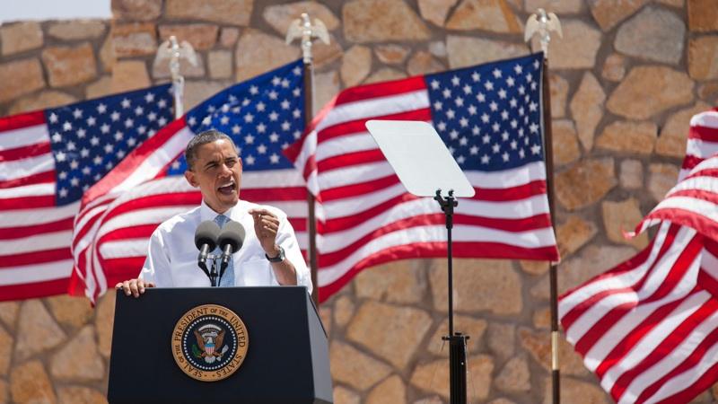 President Obama speaks in El Paso, TX on May 10, 2011.