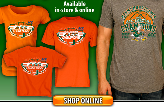 miami hurricanes acc basketball champions gear merchandise t-shirt the u allcanes