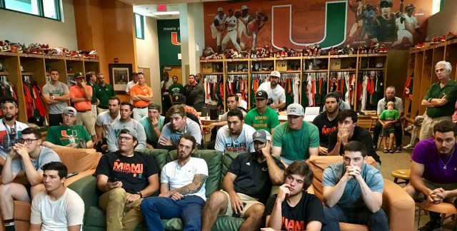 miami hurricanes baseball ncaa tournament college world series omaha nebraska jim morris