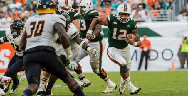 miami hurricanes the u quarterback malik rosier
