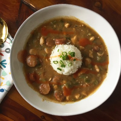 Gluten-Free Chicken and Sausage Gumbo