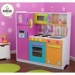 Kid Craft Kitchen Black Island Kidkraft Deluxe Big And Bright Kitchens Uk