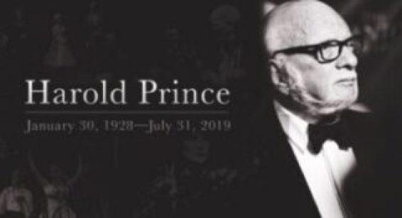 Harold Prince Bio