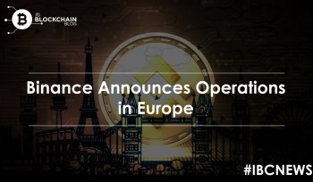 Binance Announces Operations In Europe