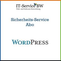 Bild zur Beschreibung des WordPress Sicherheits-Service Abos, das von IT-Service BW angeboten wird.