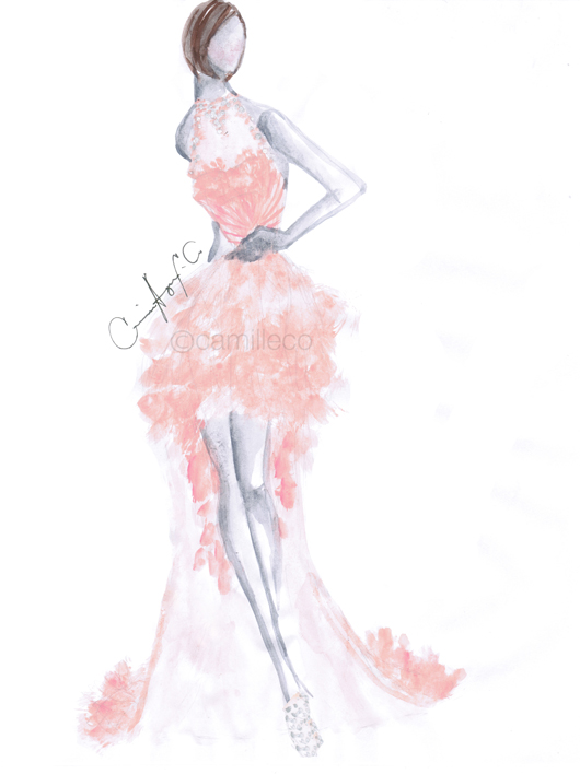 Prom Queen  A design I made for my client  Camille Tries