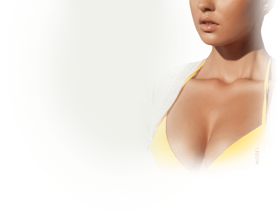 model-breast-yellow-swimwear
