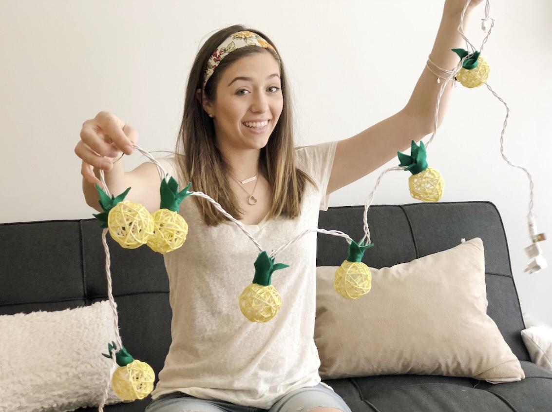 pineapplestringlights