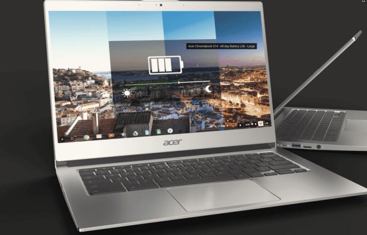 Acer Chromebook 514 display
