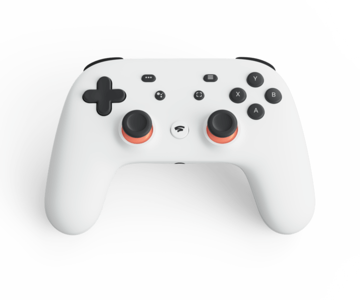 Google Stadia Controller Clearly White