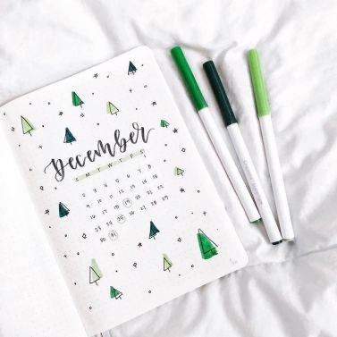 December Minimalist Calendar