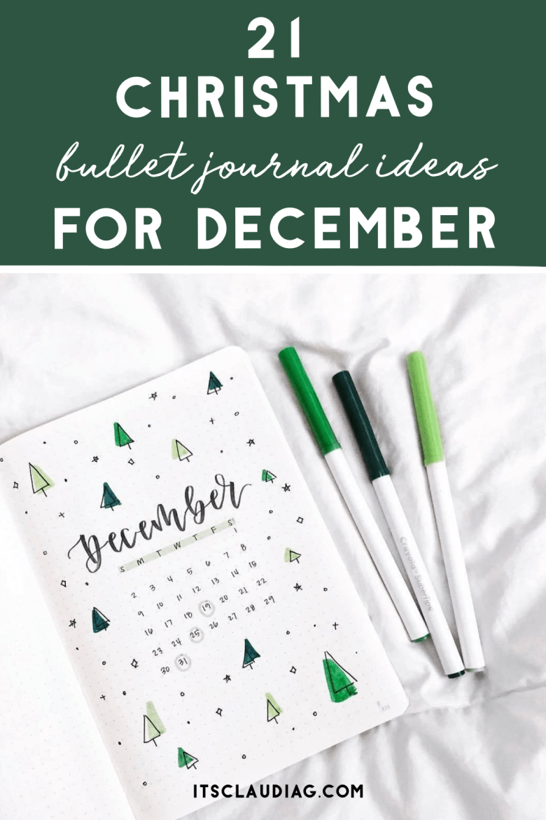 21 Christmas Bullet Journal Ideas You Can Copy Its Claudia G