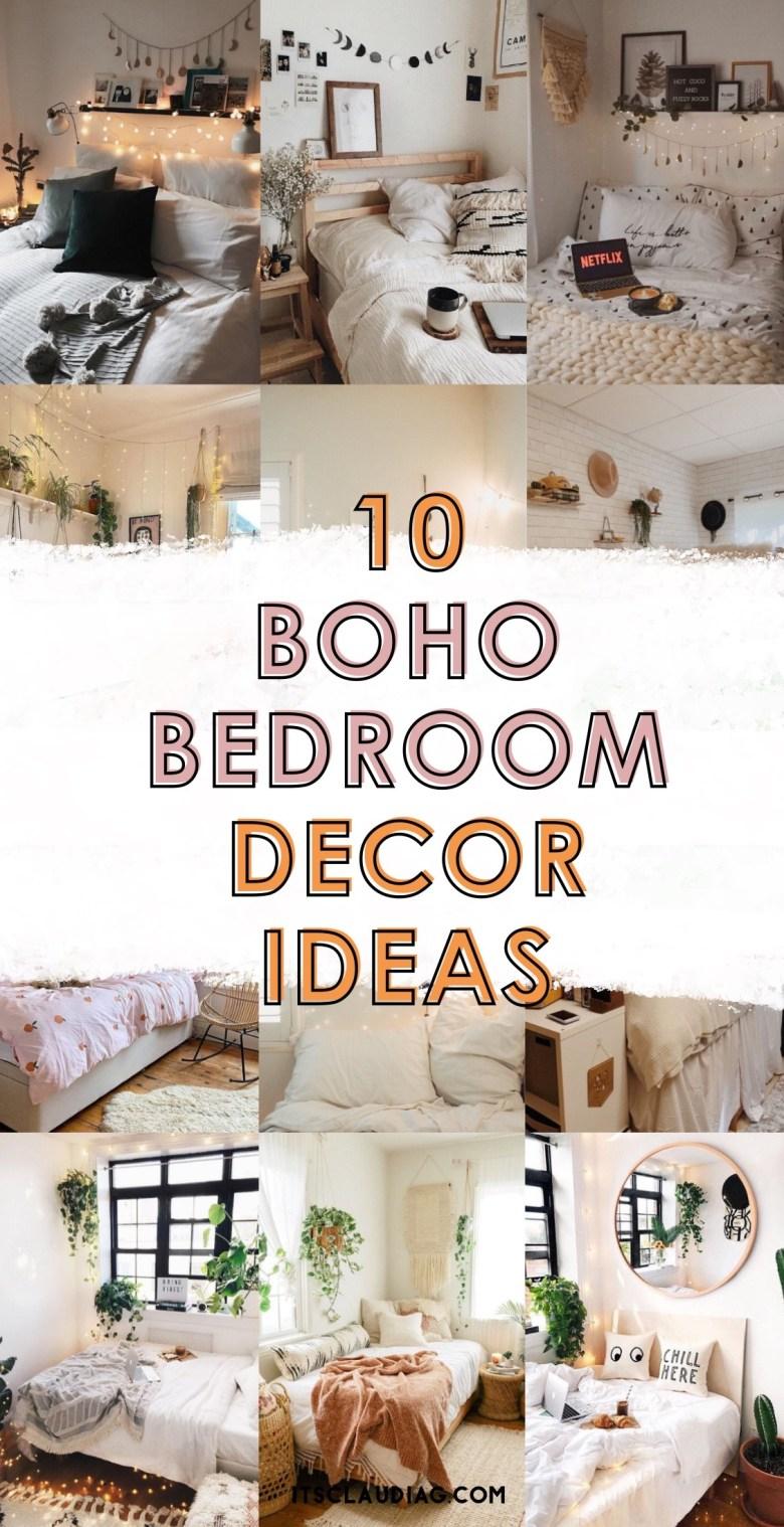 10 Boho Bedroom Decor Ideas For A Room Makeover Its Claudia G