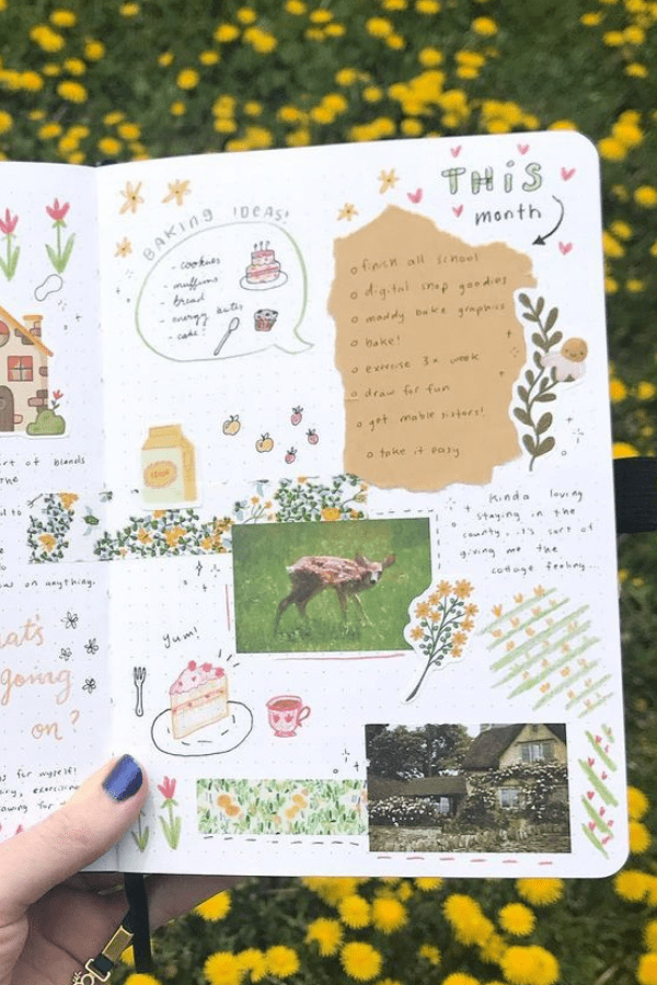 Bullet journal doodles easy