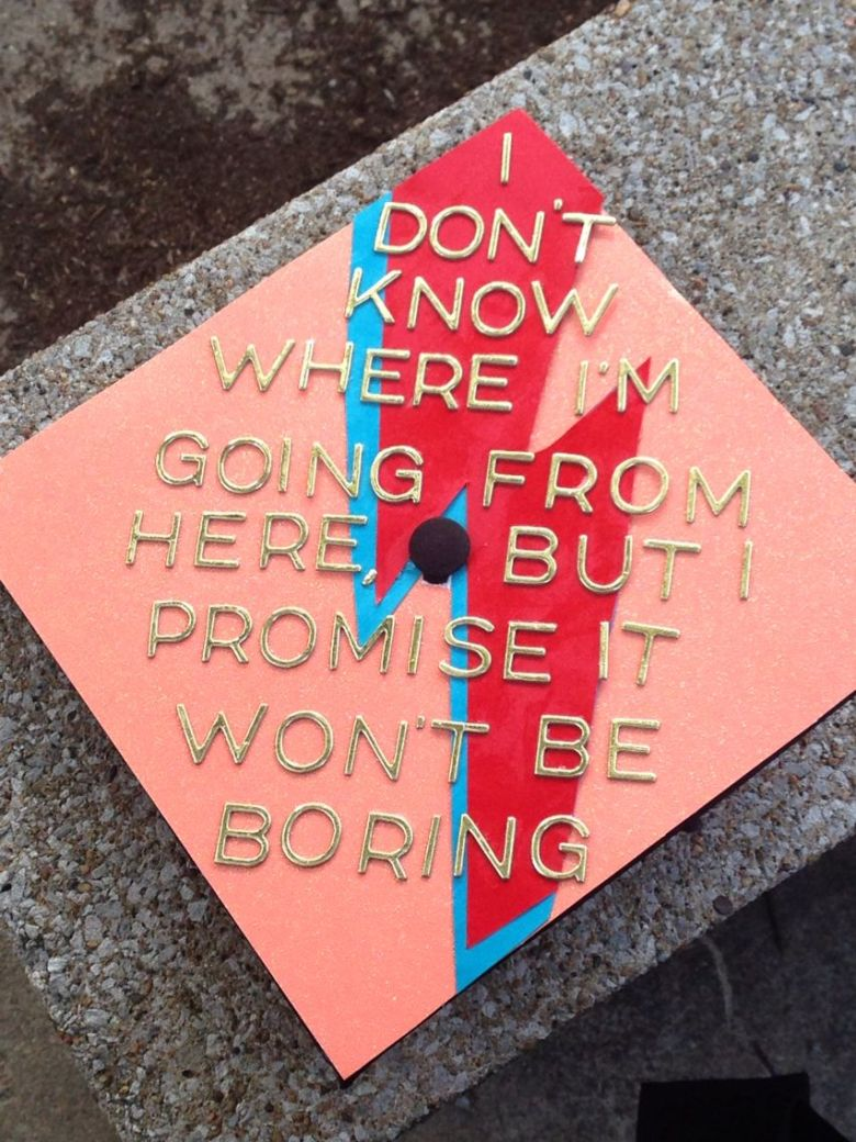 last minute Graduation cap ideas