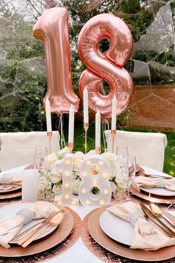 18th birthday ideas party