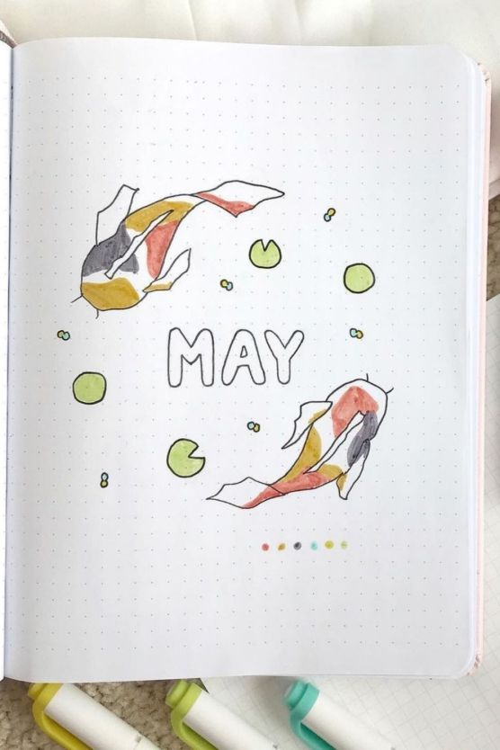 may bullet journal themes