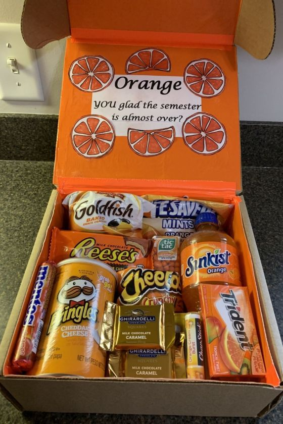 college care package ideas for boyfriend