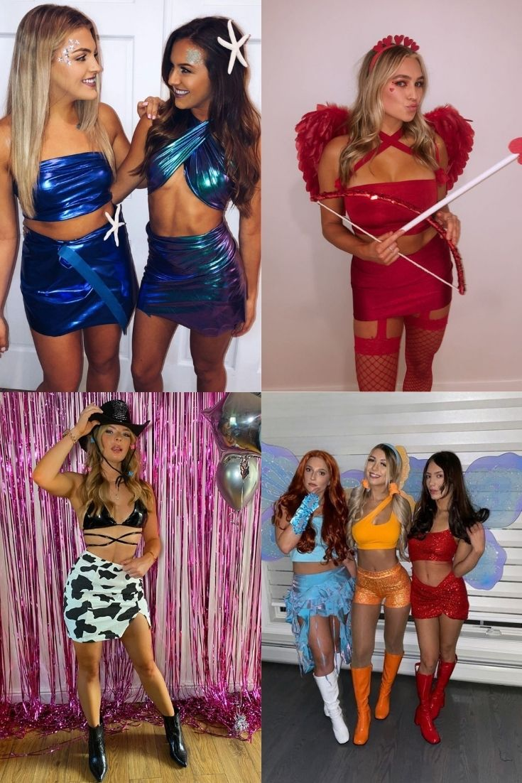 hottest college halloween costumes