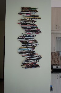 Colorful Wall Art  from Old Magazine Paper | its Crafty