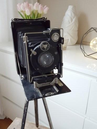 Historische Plattenkamera