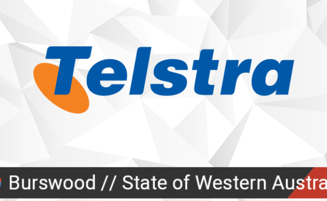 Telstra Outage In Burswood State Of Western Australia
