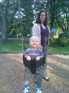 First swing ride