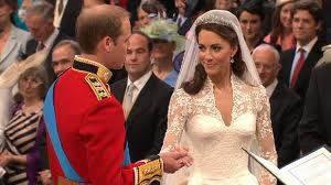william and kate at the altar
