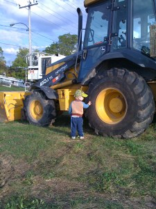 E with tractor fall 2011