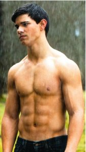 twilight taylor lautner jacob black shirtless