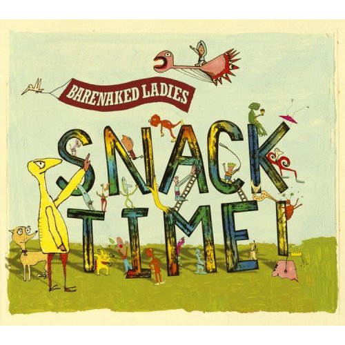 barenaked ladies snacktime album cover