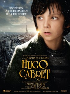 Hugo Cabret Asa Butterfield French Poster
